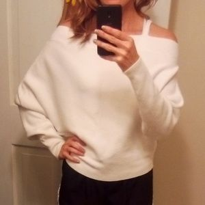 Super cute forever 21 off the shoulder sweater